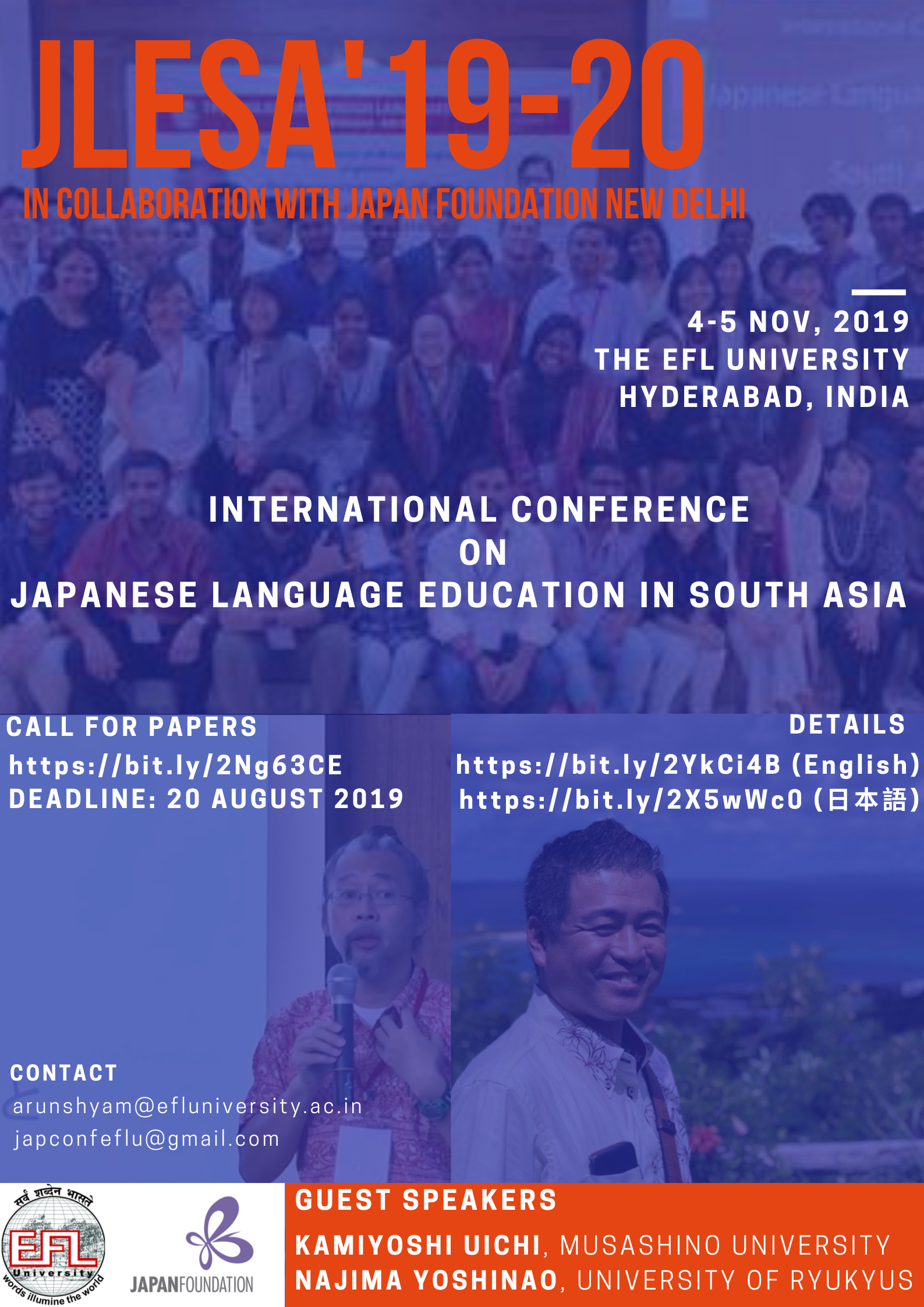 2nd Annual Conference on JLE in South Asia
